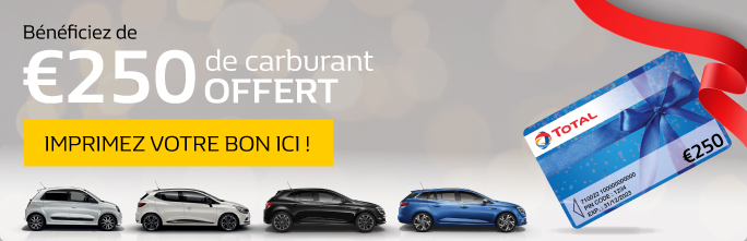 €250 de carburant offert