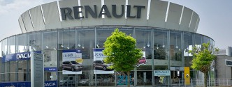 La concession Renault à Plaine