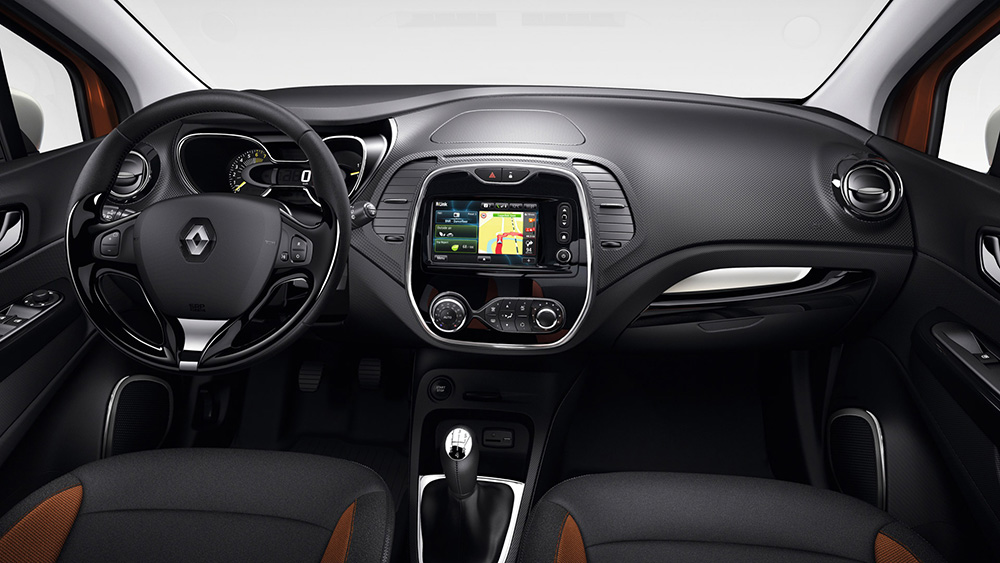 Captur renault in brussel for Led verlichting interieur