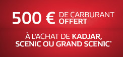 500 € de carburant offert