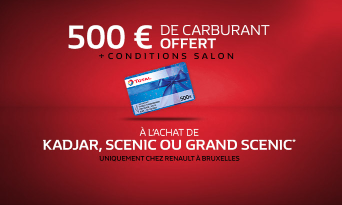 [Big] 500 € carburant offert